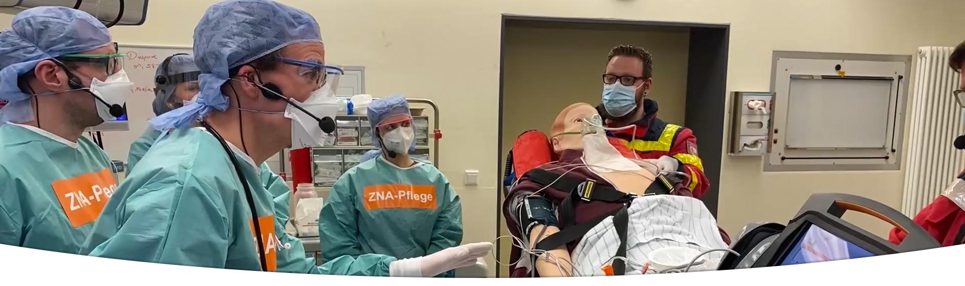 DGINA NOTFALLCAMPUS ACiLS Advanced Critical Illness Life Support